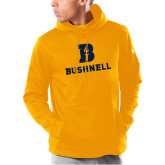 Under Armour Gold Armour Fleece Hoodie-Bushnell Athletic Mark