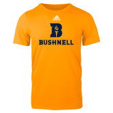 Adidas Gold Logo T Shirt-Bushnell Athletic Mark