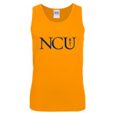 Gold Tank Top-NCU Logo