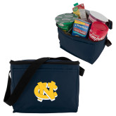 Six Pack Navy Cooler-NC Interlocking