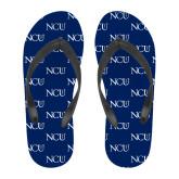 Full Color Flip Flops-NCU Logo
