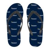 Full Color Flip Flops-Bushnell University Primary Mark