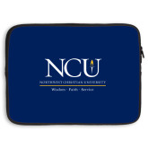 15 inch Neoprene Laptop Sleeve-Primary Logo Stacked