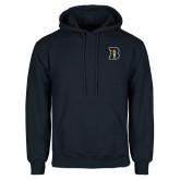Navy Fleece Hoodie-B Icon
