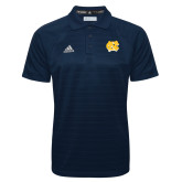 Adidas Climalite Navy Jacquard Select Polo-NC Interlocking