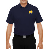 Under Armour Navy Performance Polo-NC Interlocking