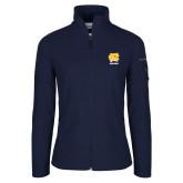 Columbia Ladies Full Zip Navy Fleece Jacket-CN Beacons