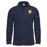 Columbia Full Zip Navy Fleece Jacket-CN Beacons