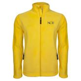 Fleece Full Zip Gold Jacket-NCU Logo