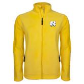 Fleece Full Zip Gold Jacket-NC Interlocking