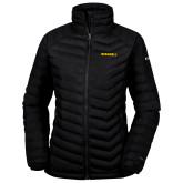 Columbia Powder Lite Ladies Black Jacket-Bushnell Athletics Wordmark