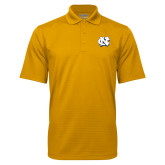 Gold Mini Stripe Polo-NC Interlocking