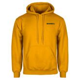 Gold Fleece Hoodie-Bushnell Athletics Wordmark