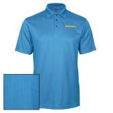 Light Blue Performance Fine Jacquard Polo-Bushnell Athletics Wordmark