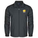 Full Zip Charcoal Wind Jacket-CN Beacons