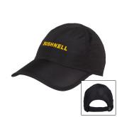 Black Performance Cap-Bushnell Athletics Wordmark