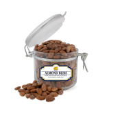 Almond Bliss Small Round Canister-NC Interlocking