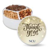 Deluxe Mix Thank You Tin-NCU Logo