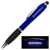 LIGHT UP LOGO Royal Stylus Pen-Bushnell Athletics Wordmark Engraved