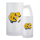 Full Color Decorative Frosted Glass Mug 16oz-NC Interlocking