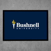 Full Color Indoor Floor Mat-Bushnell University Primary Mark