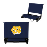 Stadium Chair Navy-NC Interlocking