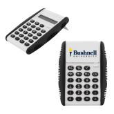White Flip Cover Calculator-Bushnell University Primary Mark