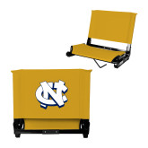 Stadium Chair Gold-NC Interlocking