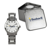 Mens Stainless Steel Fashion Watch-Bushnell University Primary Mark