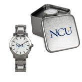 Ladies Stainless Steel Fashion Watch-NCU Logo