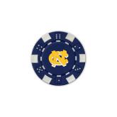 Blue Game Chip-NC Interlocking