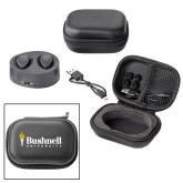 Executive Wireless Ear Buds-Bushnell University Primary Mark