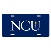 License Plate-NCU Logo