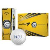 Callaway Warbird Golf Balls 12/pkg-NCU Logo