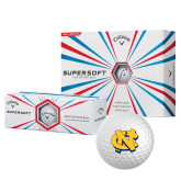 Callaway Supersoft Golf Balls 12/pkg-NC Interlocking