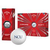Callaway Chrome Soft Golf Balls 12/pkg-NCU Logo