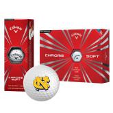 Callaway Chrome Soft Golf Balls 12/pkg-NC Interlocking