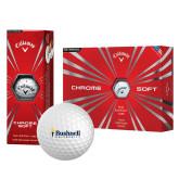 Callaway Chrome Soft Golf Balls 12/pkg-Bushnell University Primary Mark