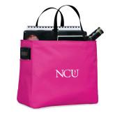 Tropical Pink Essential Tote-NCU Logo