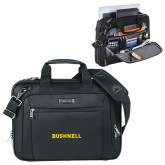 Kenneth Cole Black Vertical Checkpoint Friendly Messenger-Bushnell Athletics Wordmark