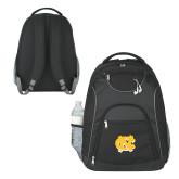 The Ultimate Black Computer Backpack-NC Interlocking