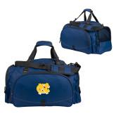 Challenger Team Navy Sport Bag-NC Interlocking