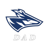 Dad Decal-Loper Dad, 6 in Wide