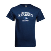 Navy T Shirt-Tennis