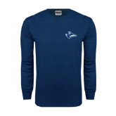 Navy Long Sleeve T Shirt-Loper Head