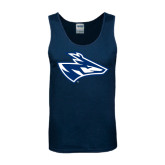 Navy Tank Top-Loper Head