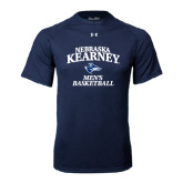 Under Armour Navy Tech Tee-Mens Basketball