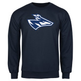 Navy Fleece Crew-Loper Head