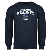 Navy Fleece Crew-Dad