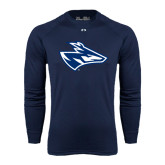 Under Armour Navy Long Sleeve Tech Tee-Loper Head